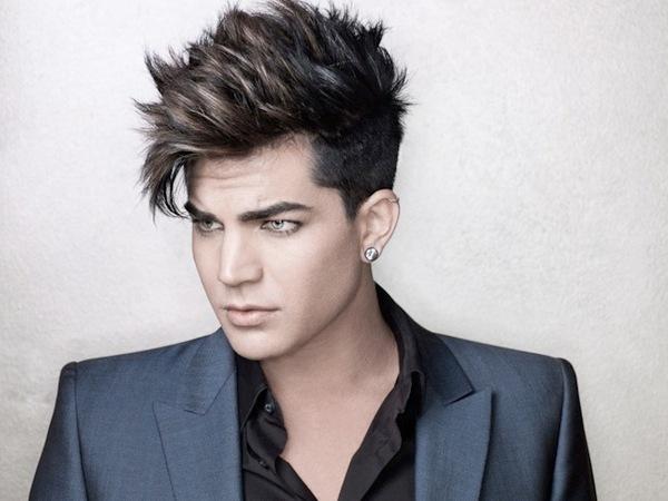 Adam Lambert 2012 blue jacket promo shot