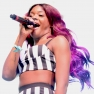 Azealia Banks performs at Coachella 2012