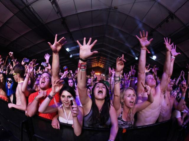 Coachella 2012: Calvin Harris