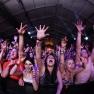 Calvin Harris performs at Coachella 2012.