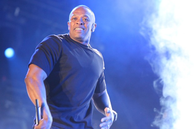 Dr. Dre performs at Coachella 2012