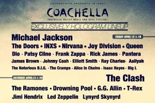 Coachella All-Hologram Lineup Hits The Web