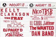 Kelly Clarkson, NKOTBSB & The Wanted To Headline MixTape Festival 2012