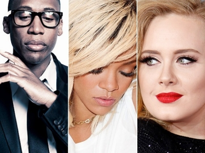 Raphael Saadiq Rihanna Adele Time 100 Most Influential People In The World 2012