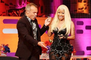 Nicki Minaj Explains To Graham Norton Why She Quit Twitter