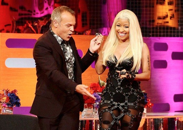 Nicki Minaj Graham Norton April 2012