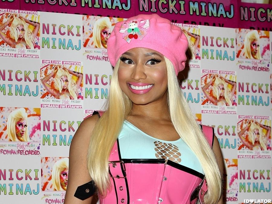 Nicki Minaj Is A Barbie Doll In London