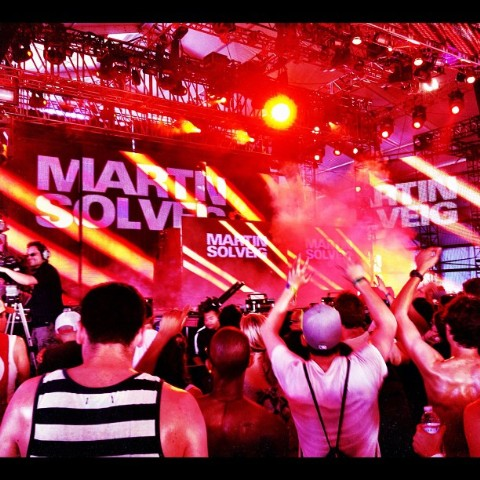Martin Solveig Joe Jonas At Coachella