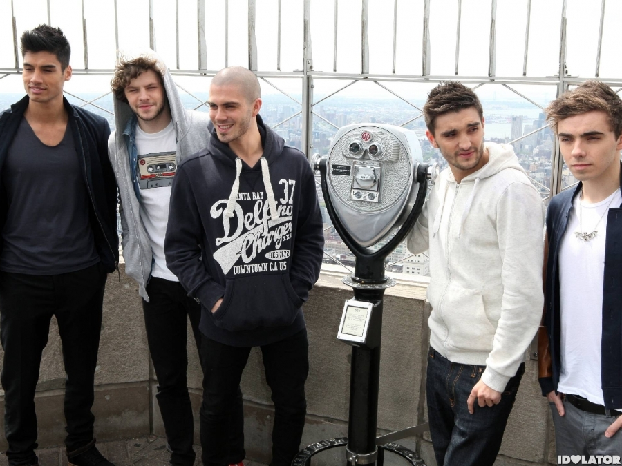 The Wanted Visit The Empire State Building