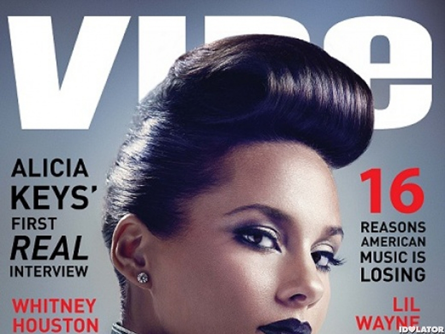 Alicia Keys: 'VIBE' cover spread