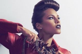 Alicia Keys Rocks A Retro 'VIBE' On Her Cover Spread