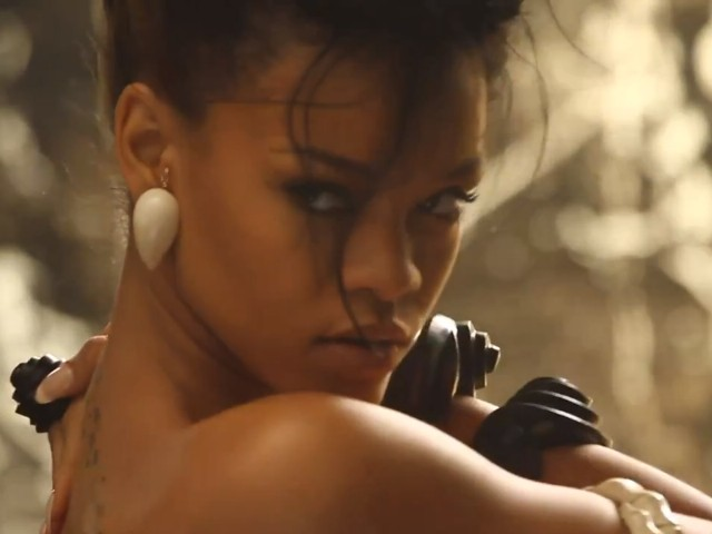 """Rihanna's """"Where Have You Been"""" Music Video Shoot"""