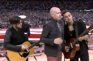 Did The Fray Deliver The Worst National Anthem Ever?