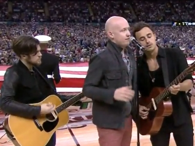 the fray national anthem