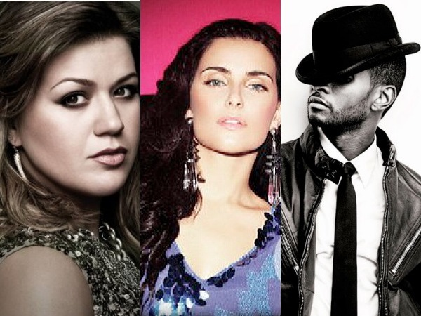 Kelly Clarkson Nelly Furtado Usher