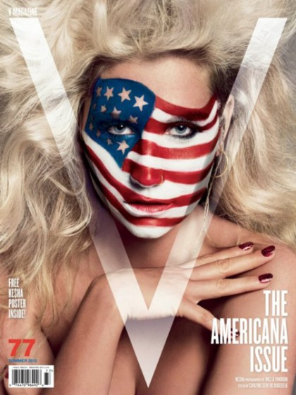 Ke$ha For 'V' Magazine