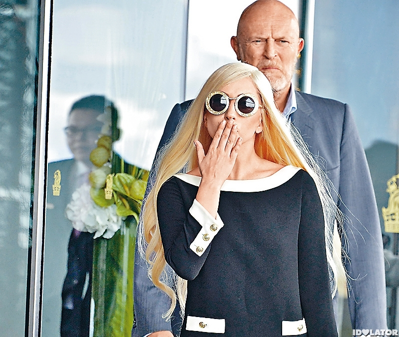 Lady Gaga Spotted In Hong Kong