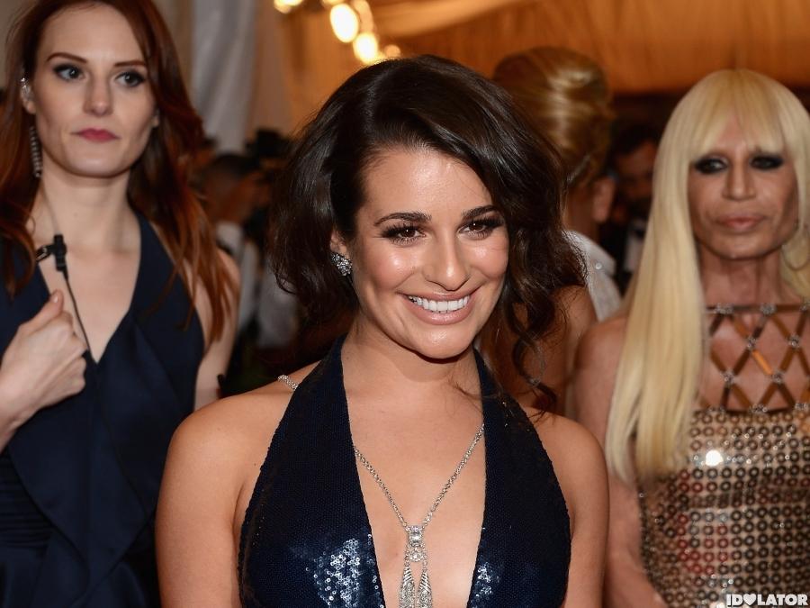 Lea Michele Costume Institute Gala 2012