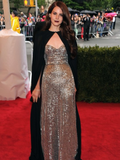 Lana Del Rey Costume Institute Gala 2012