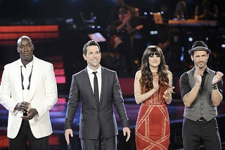 "'The Voice': Christina Aguilera And Adam Levine Have ""99 Problems"" In The Finale"