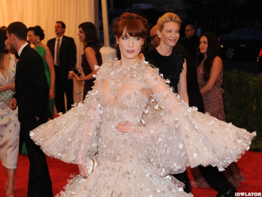 Florence + The Machine: Met Gala 2012