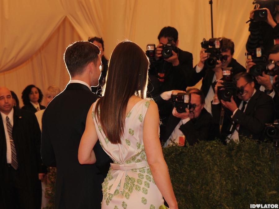 Justin Timberlake & Jessica Biel Make An Appearance At The 2012 Met Gala