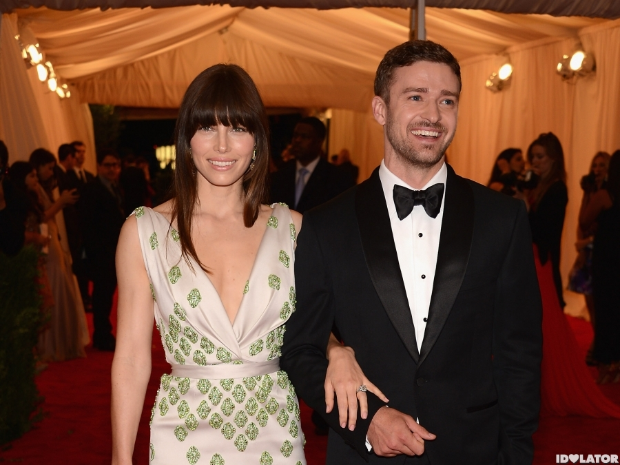 Justin Timberlake & Jessica Biel Make An Appearance At The 2012 Met Gala