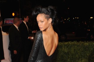 Rihanna Does The 2012 Met Gala In True Rihanna Fashion