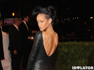 Rihanna Does The 2012 Met Gala In True Rihanna Fashion