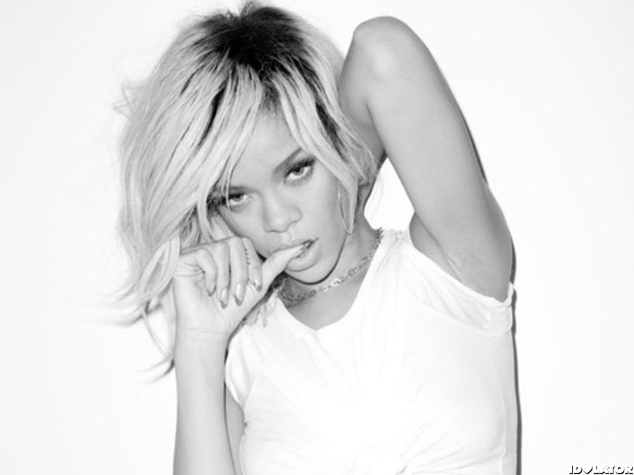 Rihanna Poses For Terry Richardson