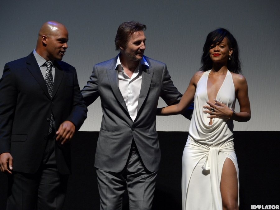 Rihanna Attends 'Battleship' Premiere in Los Angeles
