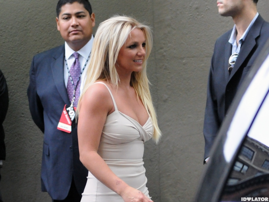 Britney Spears At Fox Upfronts