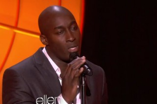 "Jermaine Paul Talks To Ellen About Winning 'The Voice', Performs ""Open Arms"""