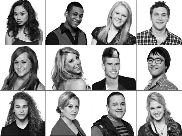 American Idol Season 11 Top 12