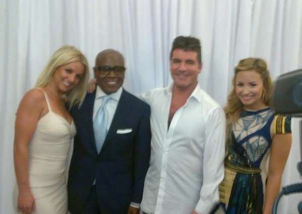 britney spears demi lovato x factor