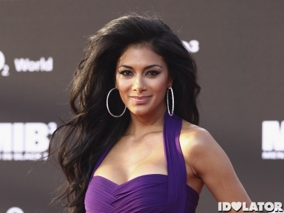 Nicole Scherzinger Is Impeccable In Purple At 'Men In Black 3′ Germany Premiere
