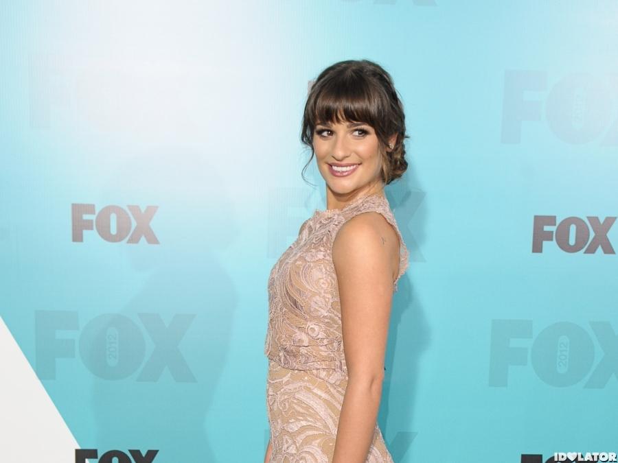Lea Michele: Fox Upfronts
