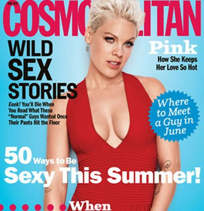 pink cosmo june 2012 cover