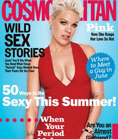 Pink Talks Motherhood And New Music In 'Cosmopolitan':Morning Mix