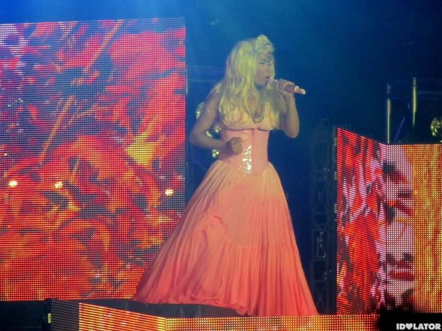 Nicki Minaj's Syndey Show