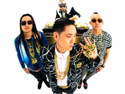 Far East Movement white background 2012