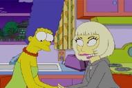 Lady Gaga Kisses Marge, Gets Yelled At By Lisa On 'The Simpsons'