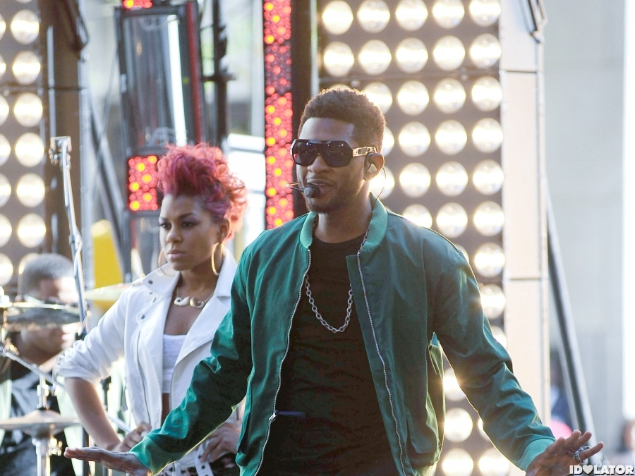 Usher Kicks Off 'Today' Show Summer Concert Series