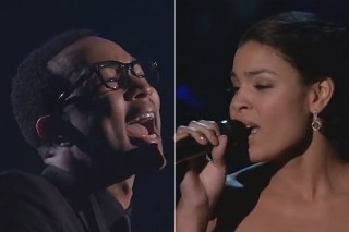 2012 Billboard Music Awards: Watch John Legend & Jordin Sparks' Whitney Houston Tribute
