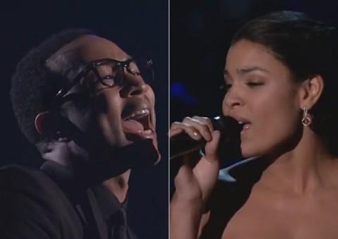 2012 Billboard Music Awards: Watch John Legend & Jordin Sparks' Whitney Houston Tribute