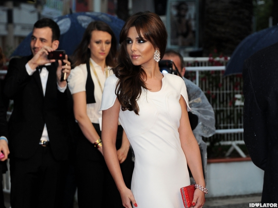 Cheryl Cole Arrives At the 65th Annual Cannes Film Festival
