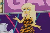 Lady Gaga Sings A Song To Her Little Monsters On 'The Simpsons'