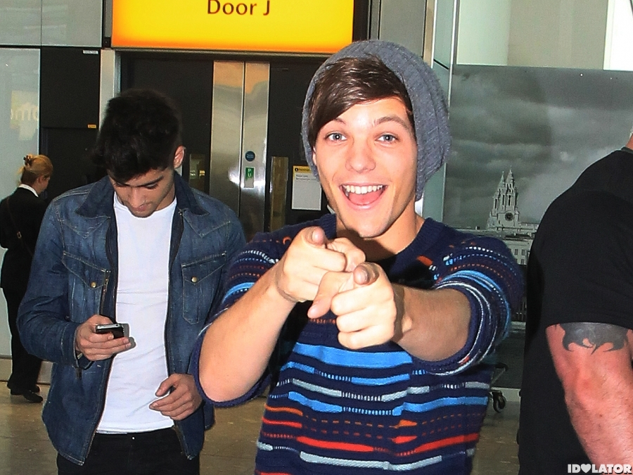 One Direction Spotted At London's Heathrow Airport
