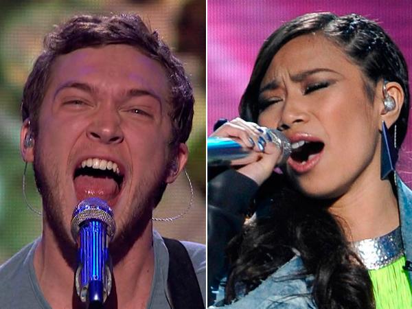 Phillip Phillips Jessica Sanchez American Idol Season 11