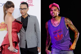 John Legend's Fiancée Chrissy Tiegan Sent Death Threats For Criticizing Chris Brown: Morning Mix